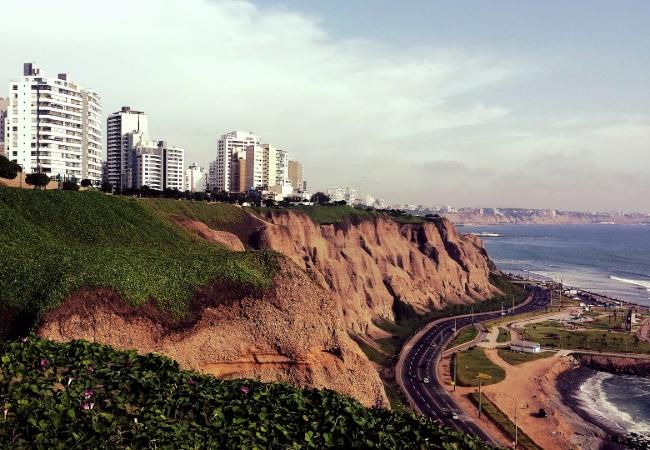 lima-coast line Peru