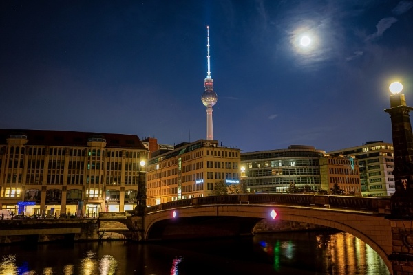 night-photograph Berlin