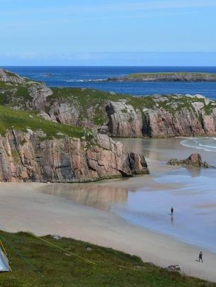 Wild Camping Scotland Beach