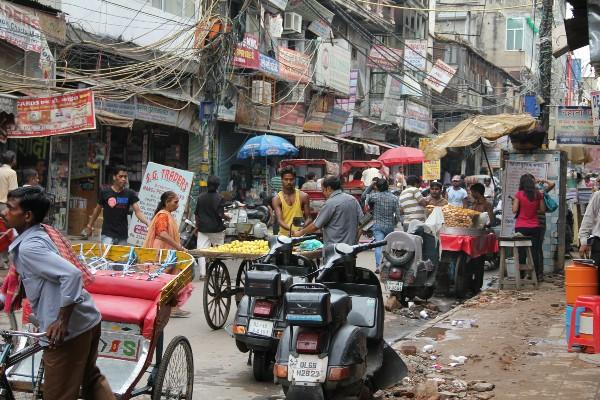 delhi-street market