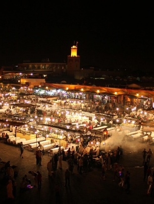 Morocco Night Market