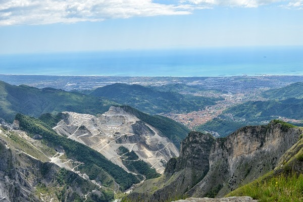 Apuan Alps Tuscany
