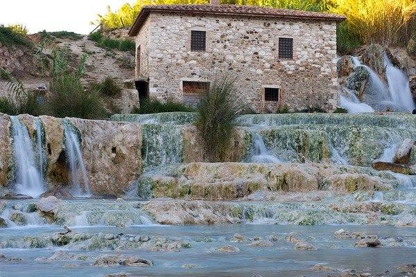 Saturnia Hot Springs Tuscany