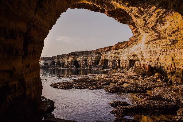 Cyprus Beach Cave