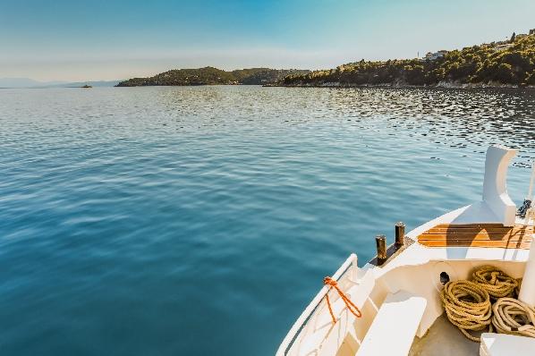 Boat in Skiathos