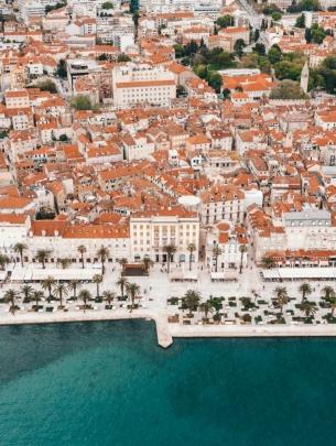 Promenade Split Croatia
