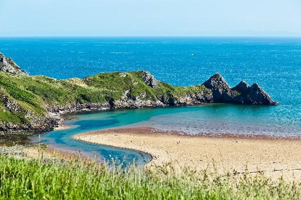 Bay in Wales