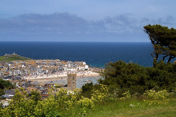 View of St Ives