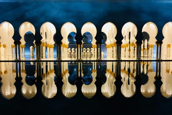 Inside Sheikh Zayed Mosque