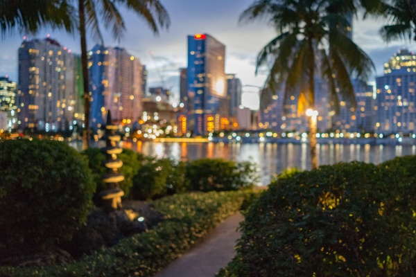 Lights in Miami